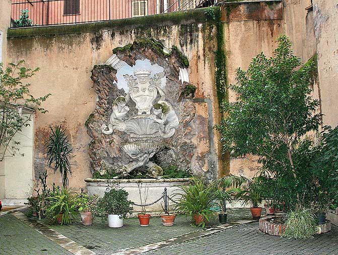 бернини фонтаны , фонтаны рим