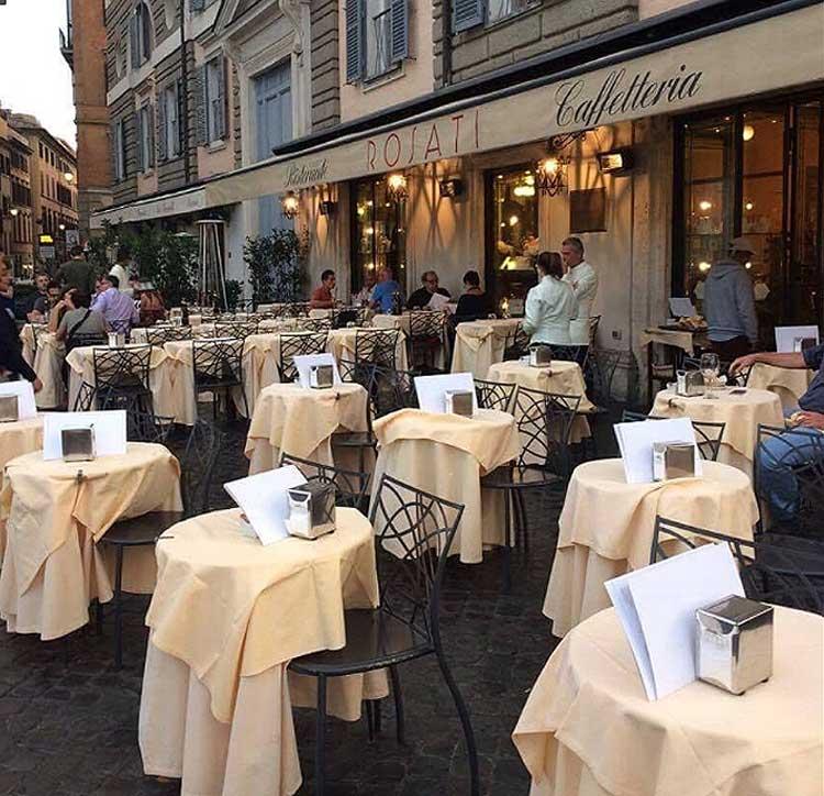 кафе рима , исторические кафе рим
