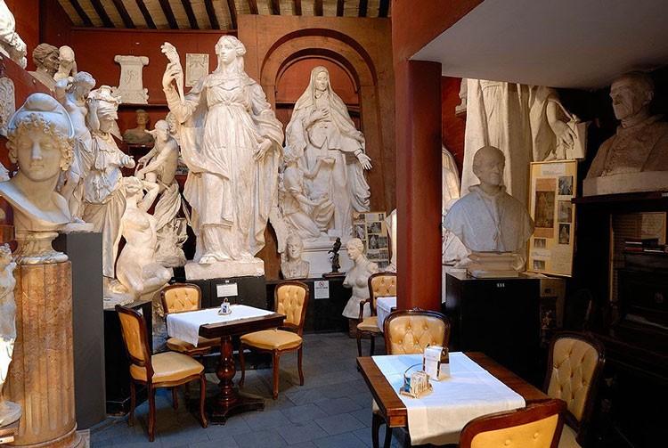 кафе канова тадолини , кафе рима , исторические кафе рим