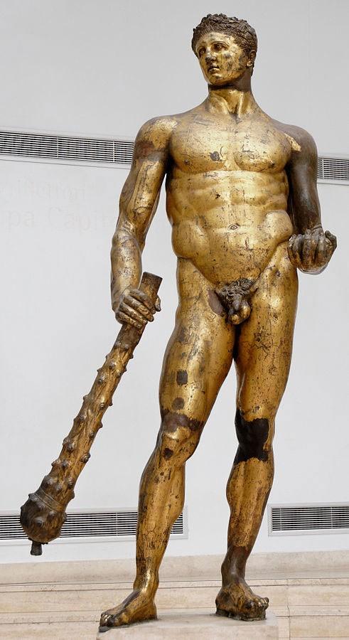 Геркулес , статуя Геркулеса в Риме