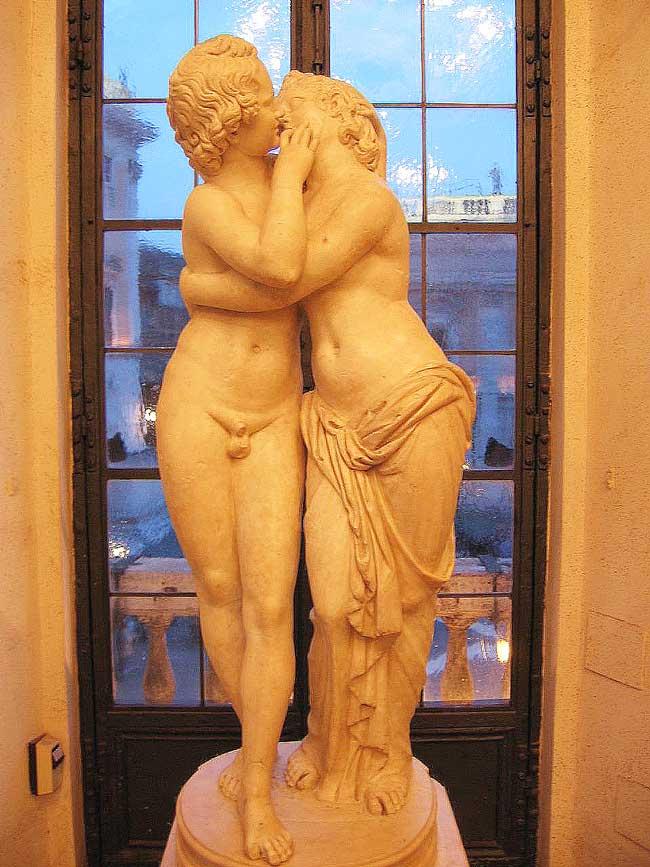 Скульптуры Древнего Рима , древние скульптуры Рима , Амур и Психея