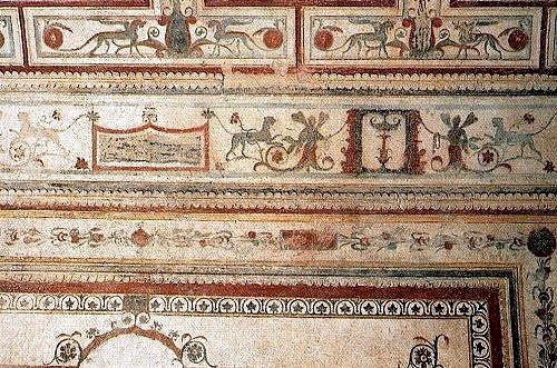 Дом Нерона фрески