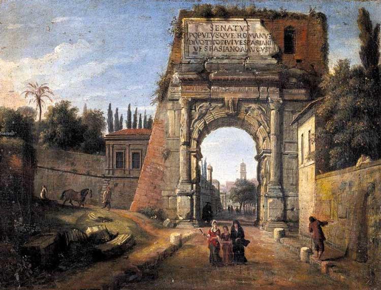 арка Тита, триумфальная арка тита
