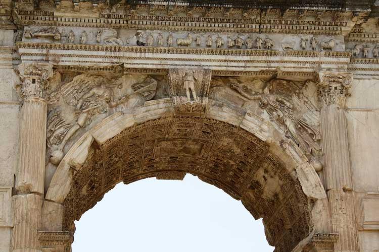 арка тита, триумфальная арка Тита, арка Тита в Риме
