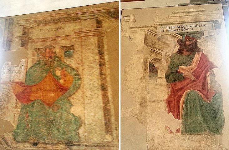 Браманте фрески