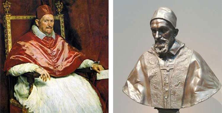 Галерея Дориа Пафили, папа ИннокентийХ