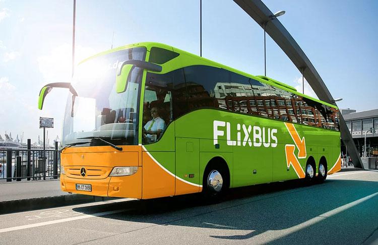 автобус Рим Неаполь, автобус Flixbus