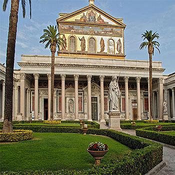 Базилика Святого Павла за городскими стенами