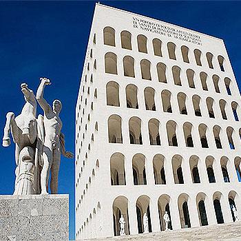 Квадратный Колизей – символ нового города и памятник недавнего прошлого